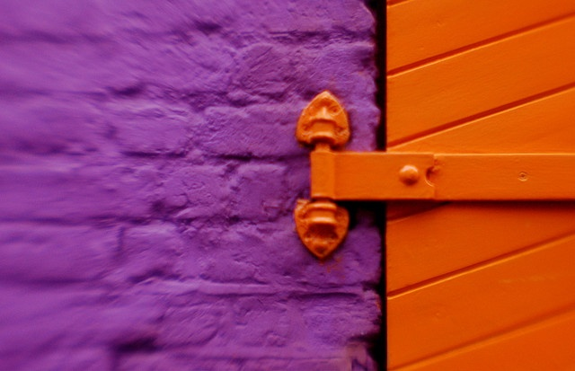 58 best orange and purple images on pinterest purple for Orange and purple walls