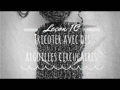 Tuto tricot: les guêtres - YouTube