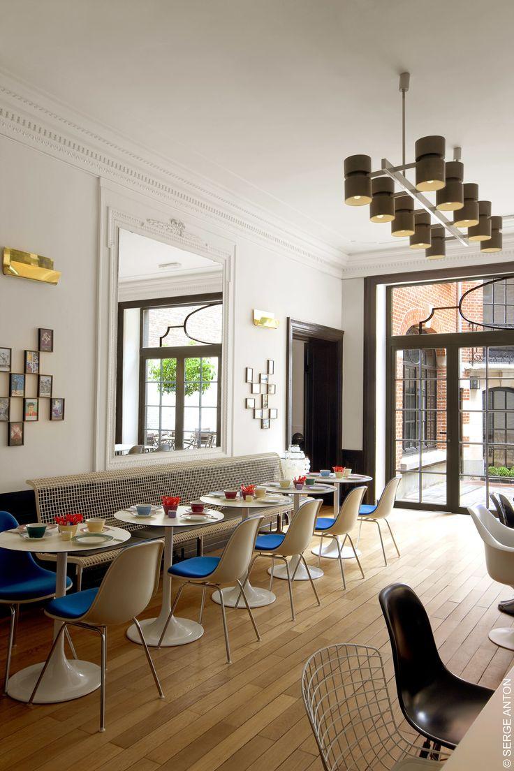 Vintage hotel brussel br ssel pinterest les tables - La table des merville castanet ...