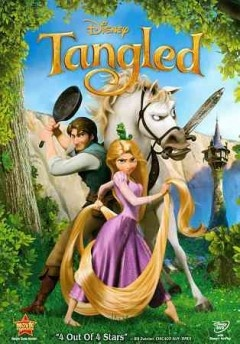 Tangled (DVD)--When the kingdom's most wanted -- and most charming -- bandit Flynn Rider hides in a mysterious tower, the last thing he expects to find is Rapunzel, a spirited teen with an unlikely superpower -- 70 feet of magical golden hair! Together, the unlikely duo set off on a fantastic journey filled with surprising heroes, laughter and suspense.