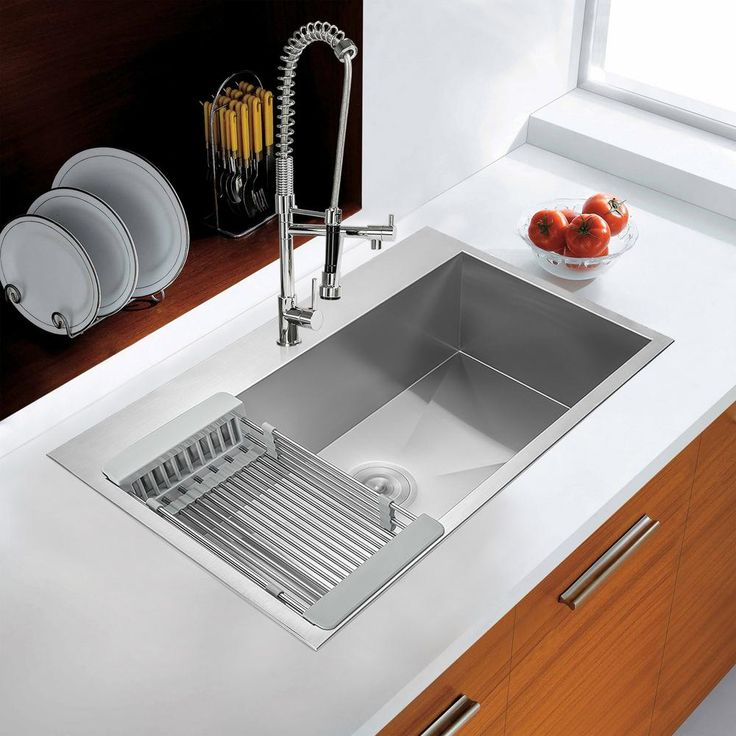 akdy handcrafted all in one drop in stainless steel 30 in  x best 25  single bowl kitchen sink ideas on pinterest   single bowl      rh   pinterest com