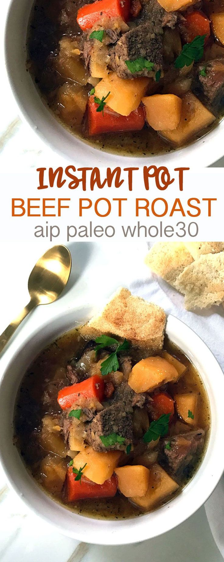 Pressure Cooker Pot Roast in 1 hour! (Paleo, AIP, Whole30) | Grazed & Enthused