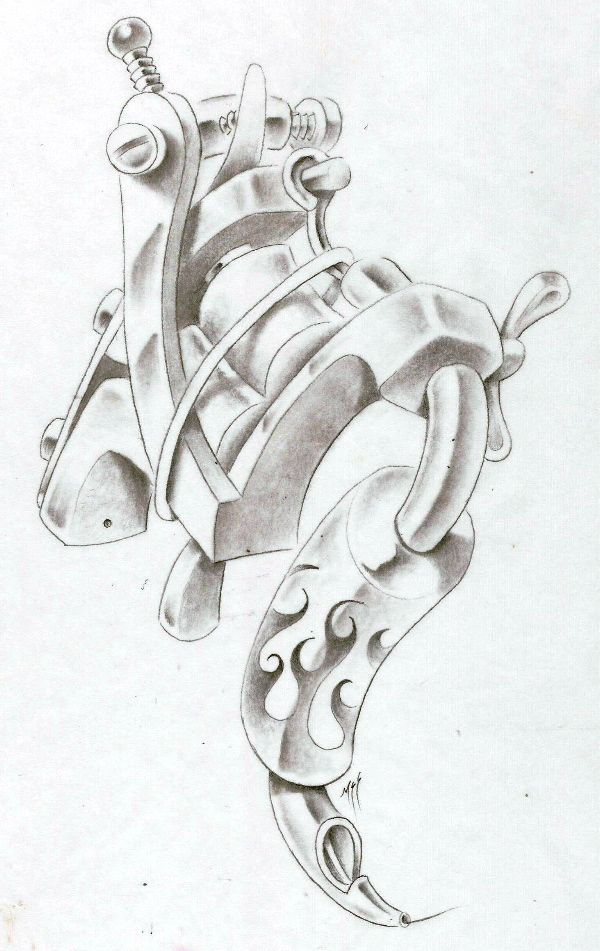 tattoo machine by markfellows on deviantART | Leannaparks ...