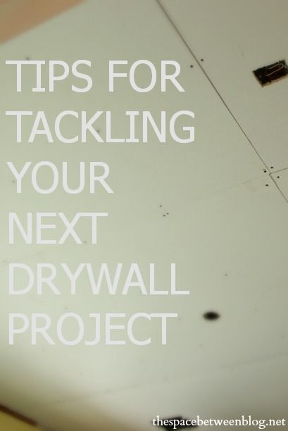 great drywall tips including what size spackle knives to use, how to finish off the corners and what sandpaper to use
