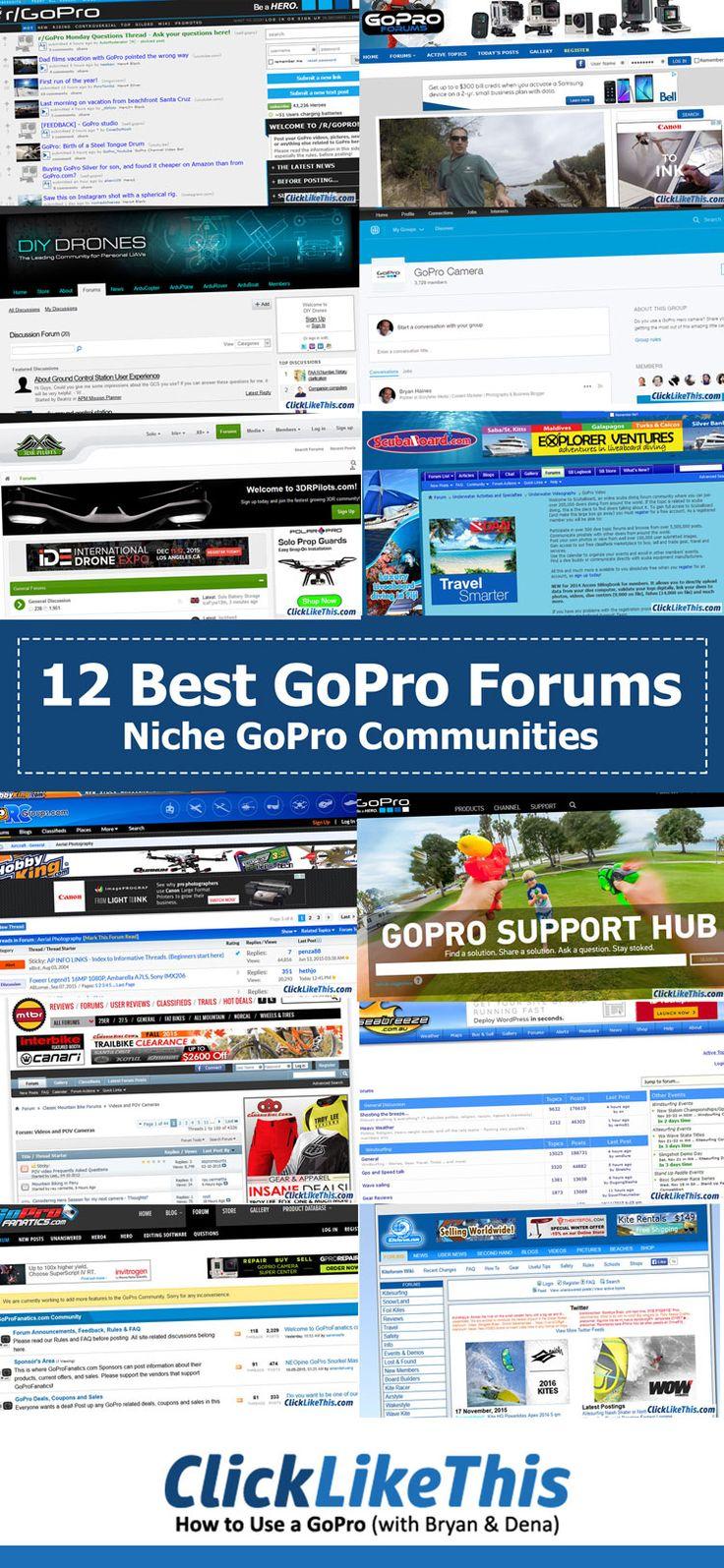 12 best GoPro forums