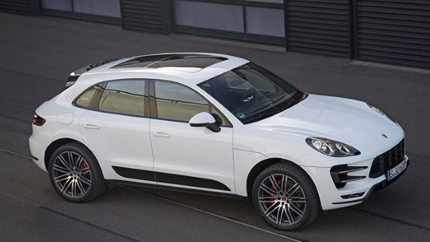 Porsche Macan Turbo. The wife's car.
