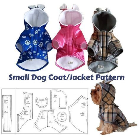 Browse unique items from SmallDogFashion on Etsy, a global marketplace of handmade, vintage and creative goods.#smalldog #dogclothes #dogcoat #waterproof #coatpattern #sewingpattern #sewingtutorial #yorkie #winterfashion #smalldogfashion #dogfashion