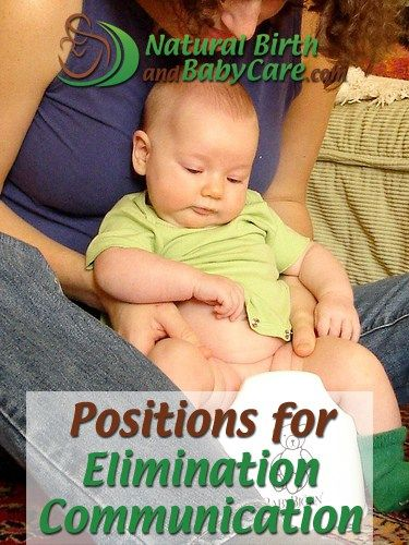 mother and her baby demonstrating one of the elimination communication positions