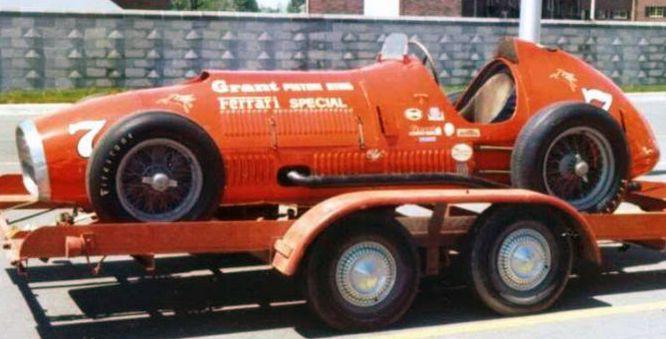 1952 Indianapolis 500  (Ferrari 375)