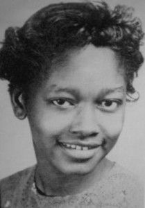 Claudette Colvin of Montgomery, Alabama (photo in 1955). Nine months before Rosa Parks refused to give up her seat on a segregated bus, 15 year old Claudette Colvin did it first. She was arrested and convicted. But, she became pregnant as an unmarried teen. Civil rights leaders worried that the pregnancy would reflect poorly on the black community and risk a court case on segregation. So, the leaders chose Rosa Parks instead.