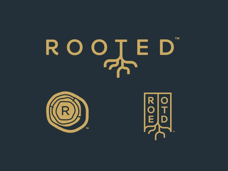 Rejected | Rooted Logo Concepts by Brandon Triola #Design Popular #Dribbble #shots