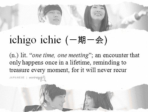 Ichigo Ichie Meaning | Animated GIFs Explain The Meanings of 'Untranslatable' Words ...