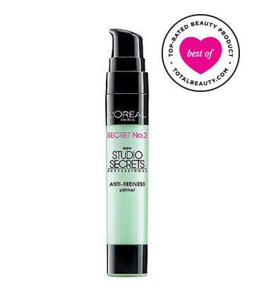 Best Drugstore Primer No. 7: L'Oréal Paris Studio Secrets Professional Color Correcting Primers, $
