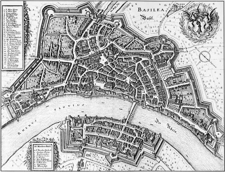 Basel, Merian 1642