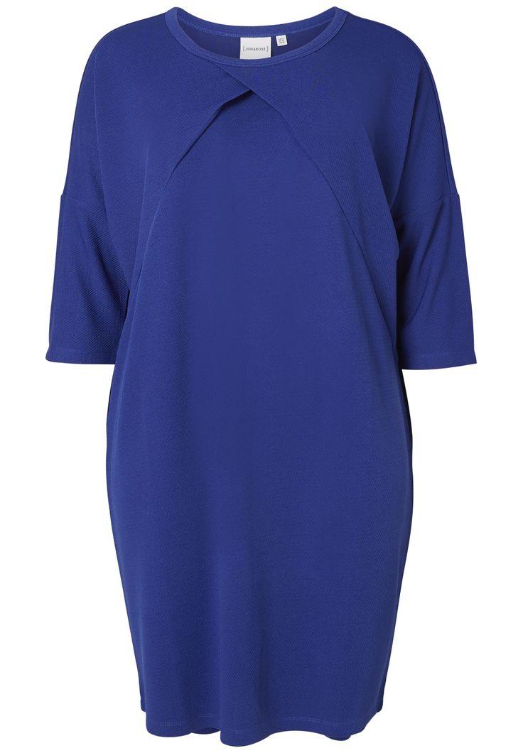 Cool Flot kongeblå kjole Junarose Modetøj til Damer i lækker kvalitet