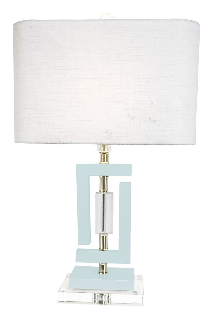 Carlsbad Accent Lamp in Blue design by Couture Lamps