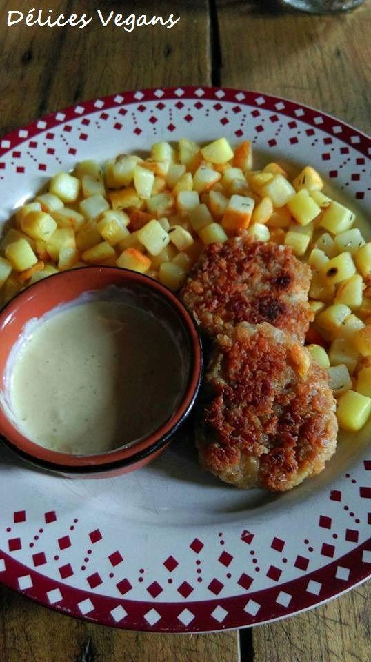 J'adoooooore cette recette ! *-* Il s'agit de nuggets, oui oui des nuggets ^^ En plus d'être végétaux ils sont très simples à réalis...