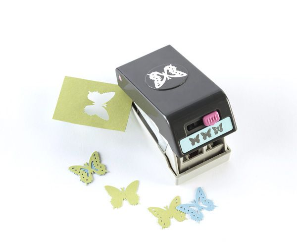 EK Success - Paper Shapers - Slim Profile - Layering Punch - Butterfly