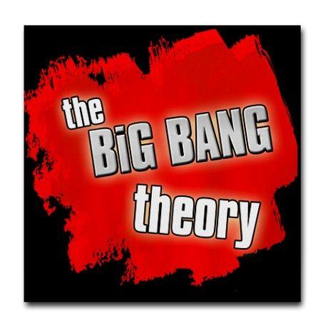 The Big Bang Theory Red Tile Coaster by kinnikinnick