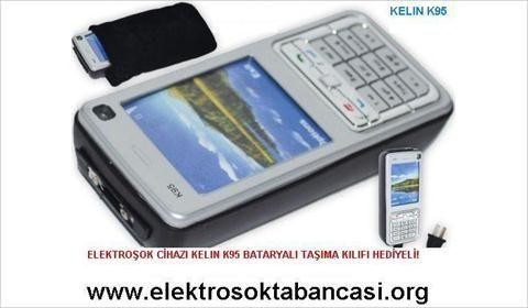 GSM Görünümlü Elektroşok Cihazı Kelin K95 49.90TL