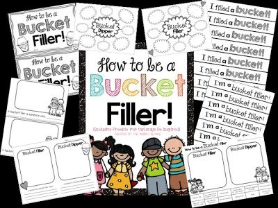 How to be a bucket filler!