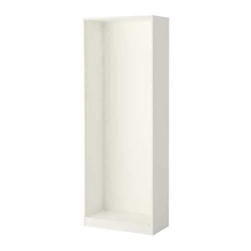 IKEA PAX Wardrobe Frame White 75x35x201 Cm 10 Year Guarantee. Read About  The Terms In Amazing Pictures