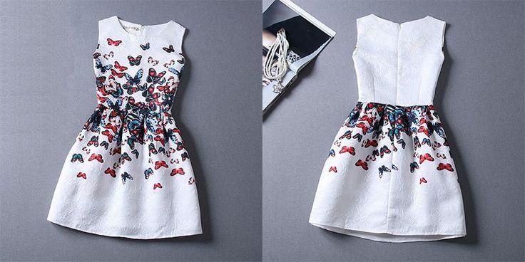 Девушки летнее платье 2016 детей платья для девочек из 5 16 лет рукавов печатных большой размер платье принцессы подростков девочек одежда купить на AliExpress