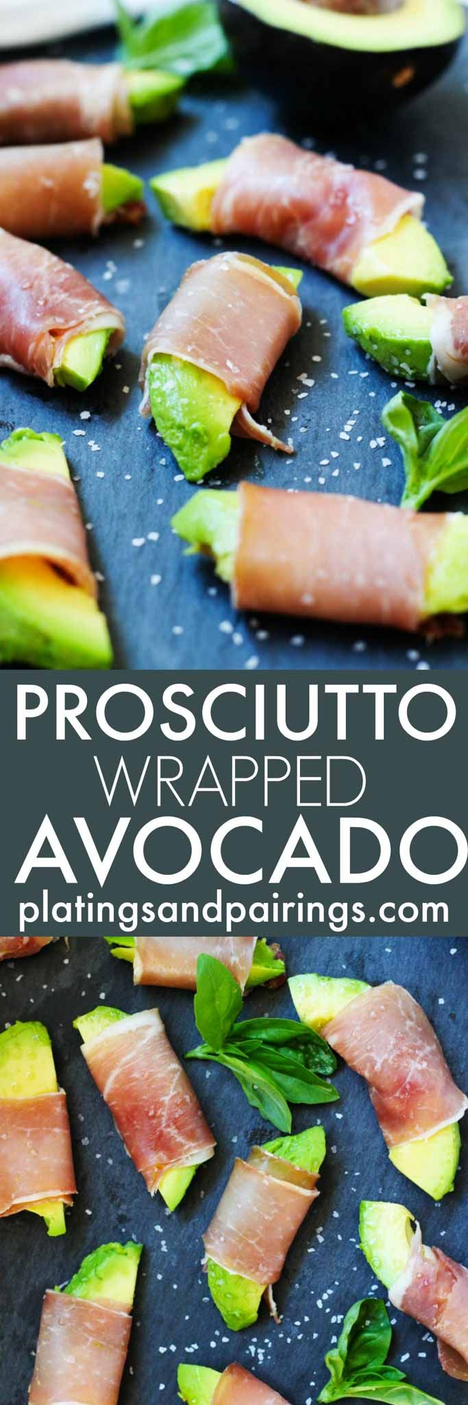 Prosciutto Wrapped Avocado Bites are the perfect party appetizer - It's easy to…