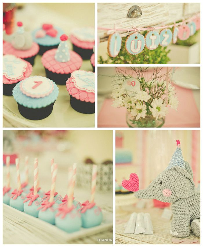 Elephant Themed Birthday Party via Kara's Party Ideas KarasPartyIdeas.com | The Place for All things Party! #elephantparty (2)
