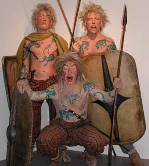 iron age british warrior tattoos anthropology