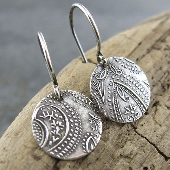 earrings: Earrings Me Myself And I, Earrings Handmade, Style, Jewellery, Coin, Jewelry, Accessories