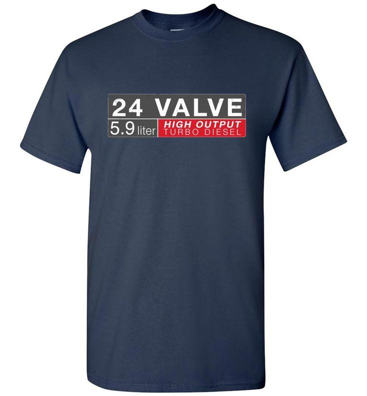 24 Valve Turbo Dodge Diesel T-Shirt