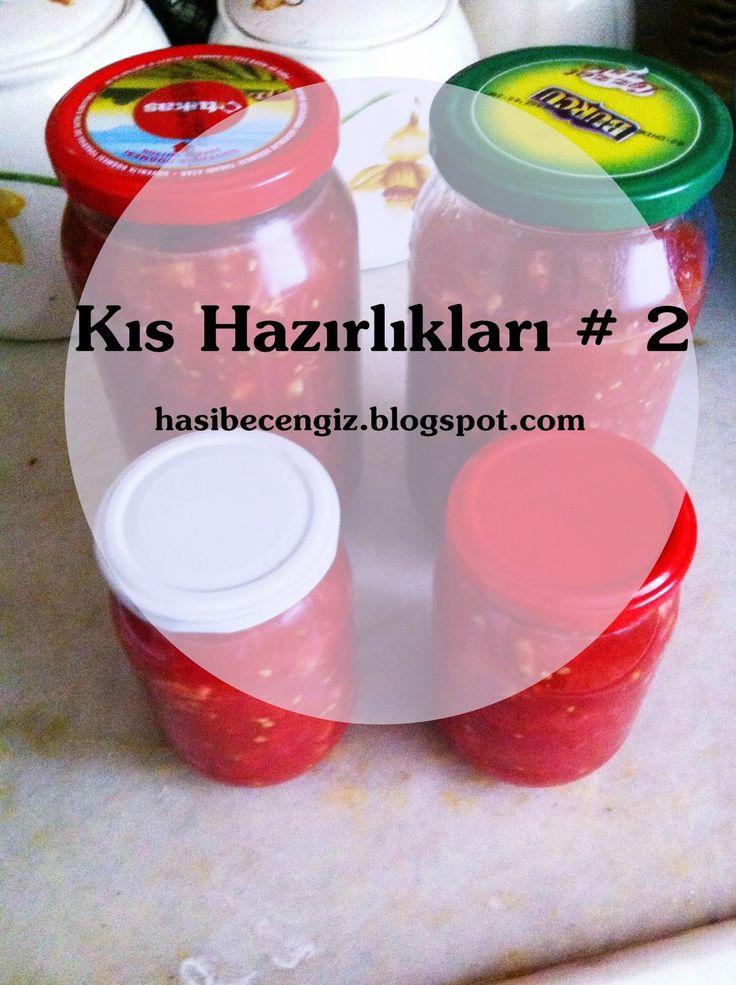 Hasibe Cengiz: Mutfakta Kıs Hazırlıkları # 2