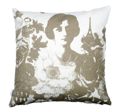 Mairo Mademoiselle cushion cover. Designed by  Lisa Bengtsson.
