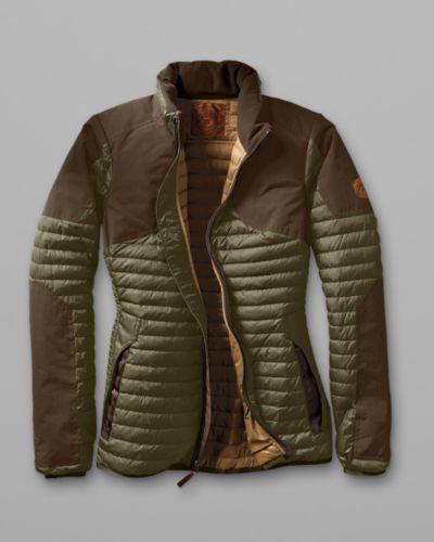 Women's Microtherm® Stormdown® Field Jacket | Eddie Bauer  Size L moss color!!!