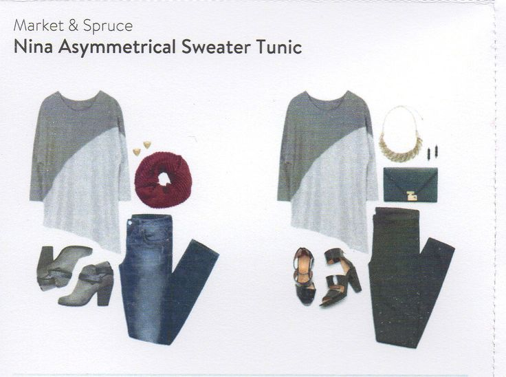 Like this Asymmetrical Sweater Tunic