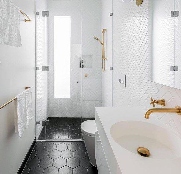 Top 70 Best Bathroom Backsplash Ideas Sink Wall Designs Herringbone Tile Bathroom White Bathroom Tiles Bathroom Backsplash