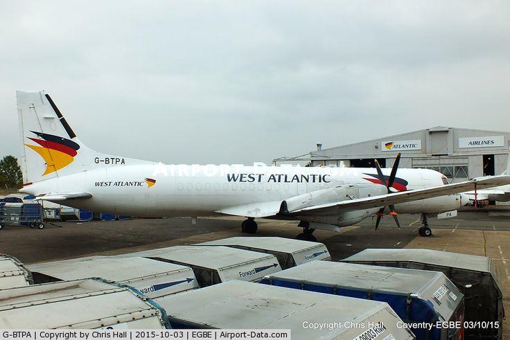 G-BTPA, 1988 British Aerospace ATP C/N 2007, West Atlantic Airlines - by Chris Hall