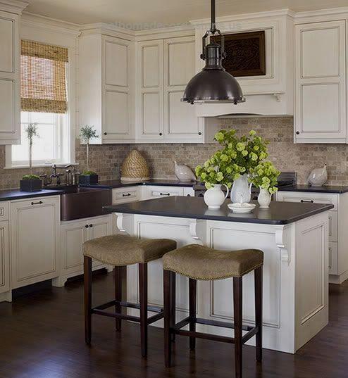 Dark hardwood floors with antique white cabinets…  White Cabinets With Dark Floors | The Nest – Buying a Home, Money Advice, Decorating Ideas, Easy …  http://www.coolhomedecordesigns.us/2017/06/12/dark-hardwood-floors-with-antique-white-cabinets/