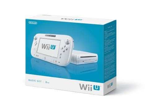 Nintendo Wii U Console 8GB Basic Set - White List Price: $299.99 Buy New: $254.19