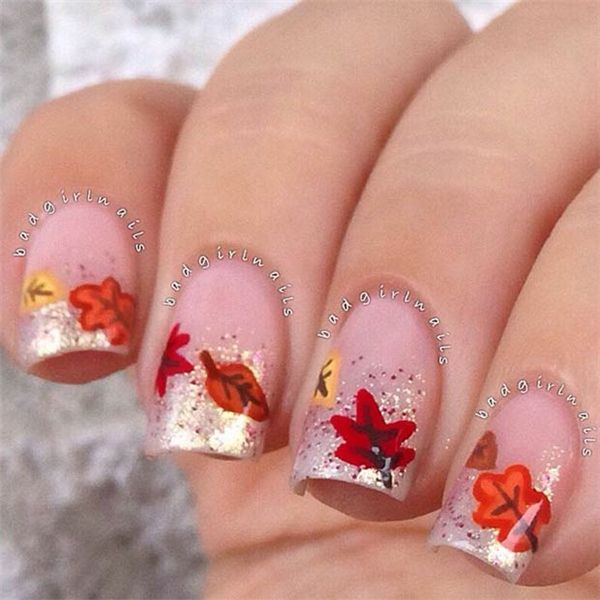 Fall Glitter Nail Designs: Autumn.quenalbertini: Fall Nail Art Design