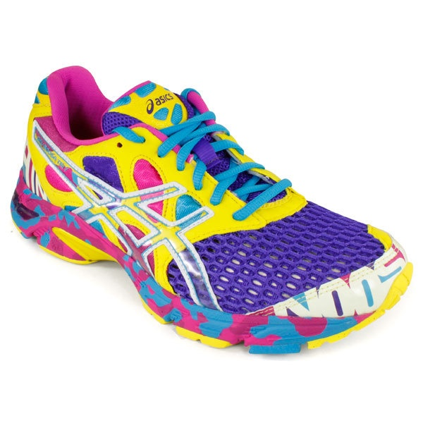 Women`s Gel-Noosa Tri 7 Running Shoes Electric Purple/White/Sun
