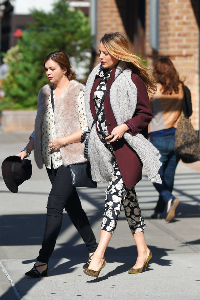 Charting Blake Lively's best maternity style looks: