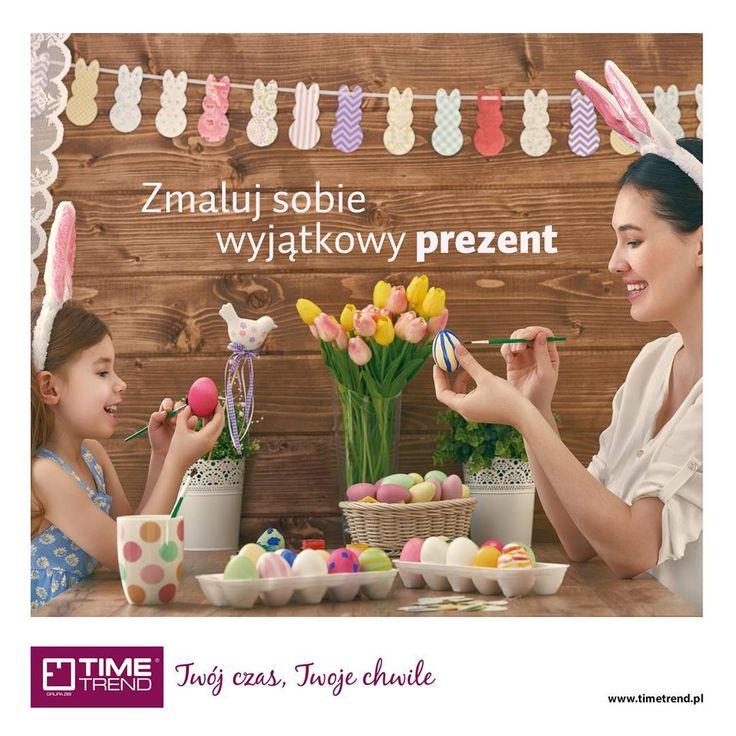 Zmaluj sobie wyjątkowy prezent w salonach Time Trend! W dniach 24-26.03.2016 odbierz rabat 14% na dowolny #zegarek  Na www.timetrend.pl wykorzystaj hasło 'wielkanoc2016' w polu vouchery, aby uzyskać zniżkę.  Promocje nie łączą się.  #zegarki #timetrend #promocja #rabat #kodrabatowy