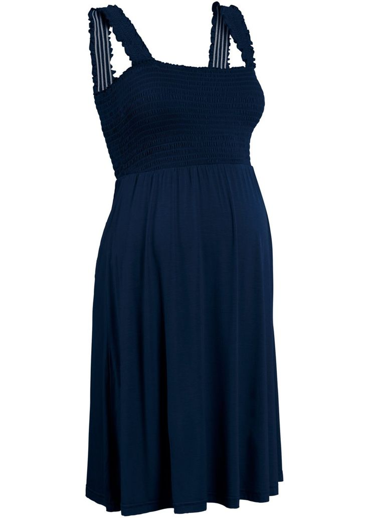 Jetzt anschauen: Das elastische, weiche Material dieses knieumspielenden Umstandskleids passt sich dem während der Schwangerschaft wachsenden Bauchumfang optimal an. Dieses Schwangerschaftskleid eignet sich besonders für wärmere Tage.