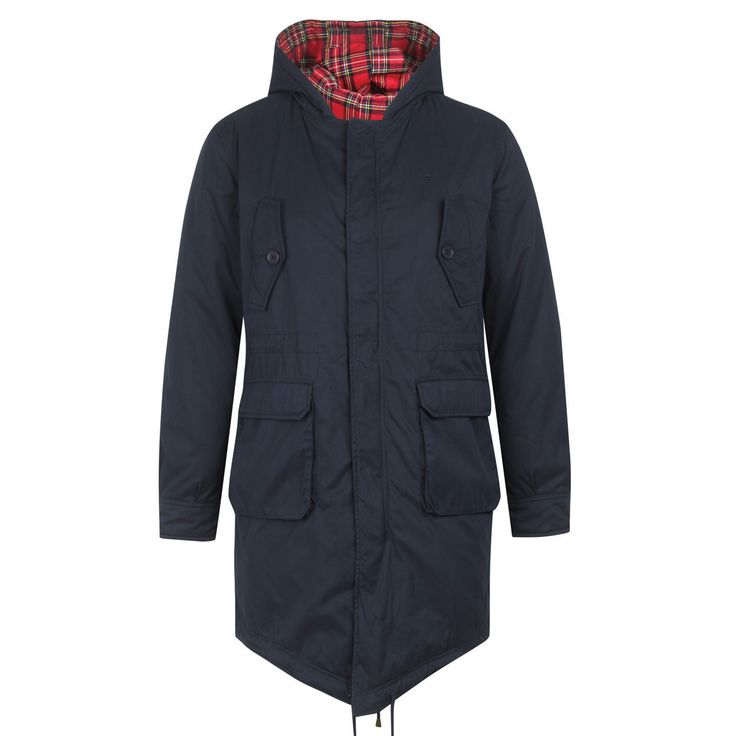 Tobias Men's Fishtail Parka | Men's Coats & Jackets - Merc Clothing