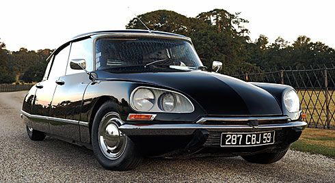 Citroen DS a cool car see it in Tinker Tailor Soldier Spy