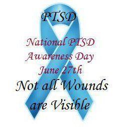 National PTSD Awareness Day, June 27th