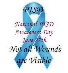 National PTSD Awareness Day, June 27th