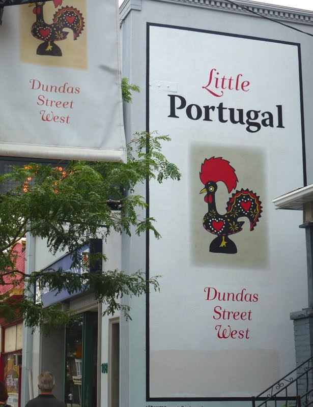 Dundas Street West - Little Portugal Toronto    Photo credit: http://occasionaltoronto.blogspot.ca/2011/08/little-portugal.html